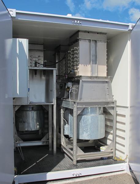 force cooled load bank